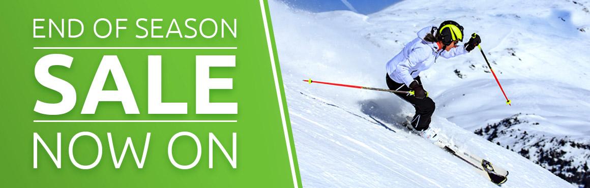 Snowtogs End of Season Sale Banner