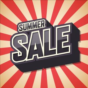 SUMMER SALE OPENING HOURS